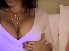Amateur busty immature on webcam show