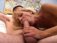 Beautiful Blonde Mommy XXX video