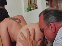 Crazy pornstar in Amazing Oldie, Tattoos porn video
