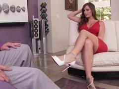 Exotic pornstar in Incredible Foot Fetish, Babes porn clip