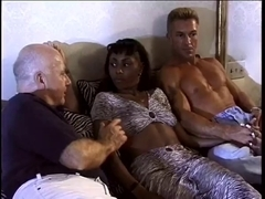 Sexy Swarthy Mother I'd Like To Fuck Acquires Double Teamed By White Weenie