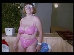 German granny disrobe