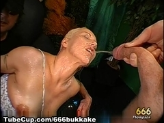 666Bukkake Video: Yessss, That's Pee