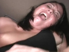 Anal Banging Threesome In A Car