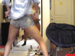 Most Excellent twerking cam dilettante clip