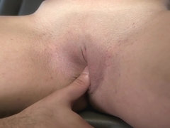 Shy Amateur Brunette Gets Fucked On The...