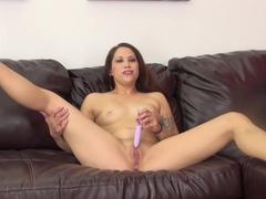 Best pornstar Katt Lowden in Amazing Solo Girl, Natural Tits sex video