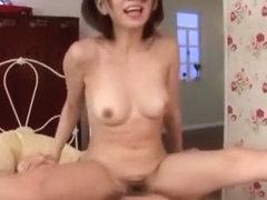 Crazy Japanese chick Mayu Nozomi in Exotic Skinny, Hairy JAV scene