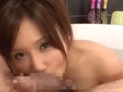 Fabulous Japanese chick Minami Kojima in Hottest POV, Blowjob/Fera JAV scene