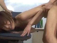 Exotic Japanese model Hina Wakara in Fabulous Skinny, Small Tits JAV video