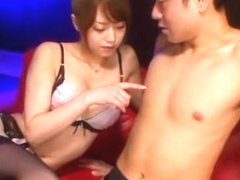 Amazing Japanese girl Akiho Yoshizawa in Fabulous Lingerie, Cunnilingus JAV movie