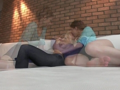 Girlfriends Hot lesbians enjoy some pussy eating