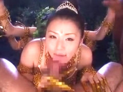 Horny Japanese whore Tsubomi in Amazing Blowjob/Fera, Gangbang JAV movie
