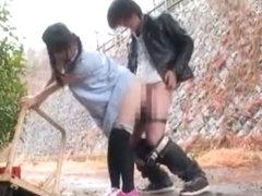 Amazing Japanese slut Ami Morikawa in Hottest Stockings/Pansuto, Doggy Style JAV clip