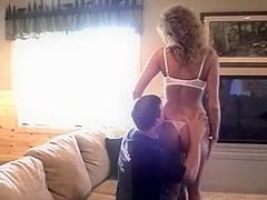 Swinger dilettante wife's 1st public clip