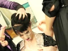 Fabulous pornstar Tarra White in amazing threesome, masturbation porn movie