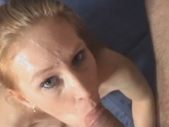 hawt blond wench acquires great jizz flow -dutch - csm