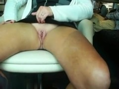 MILF using her fingers to get off
