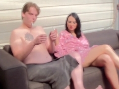 Sex toys and anal fuck in home clip