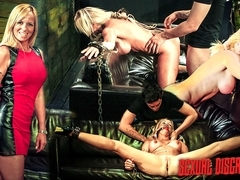 Hot Cougar Dani Dare Gets Fucked Hard in Bondage