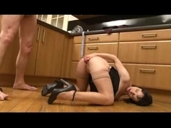European married milf bends over and gets fucked hard