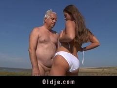 Oldman fuck an young asshole