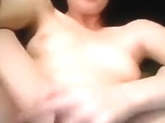 Lonely Girl Masturbates with a Fist
