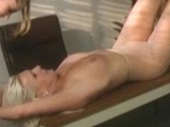 Two incredible babes enjoy perverted lez fun