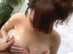 Japanese Super Squirter Sucks and Bonks (Uncensored)