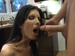 Chris Johnson fucking his friend's hot brunette mom Shay Sights