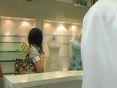 Cute Japanese banged hard in hardcore massage voyeur video