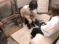 Sweet Jap gives a passionate blowjob on hidden camera