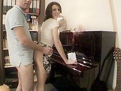 Fucking a piano teacher