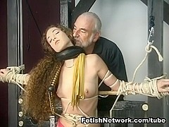 FetishNetwork Video: Nicole Flogged And Skewered