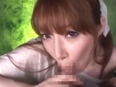 Hottest Japanese girl Shiori Inamori in Incredible Cumshots, Blowjob JAV video