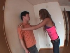 Horny JAV censored adult movie with best japanese models