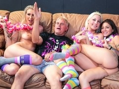 ImmoralLive Video: Aimee Black, DD Ventura And Hailey Holiday