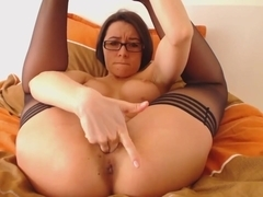 Bea fingering her pussy