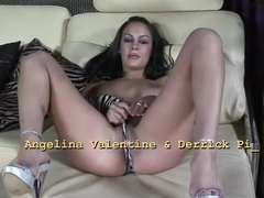 Angelina Valentine drilled hardcore