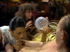 Kimi Gee, Melissa Melendez, Renee Summers in vintage fuck movie