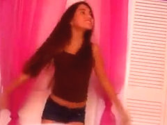 Excellent wazoo popping cam panty video