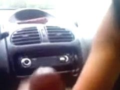 Sucking in the car