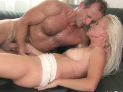 Mom xxx: Blonde MILF gets fucked hard
