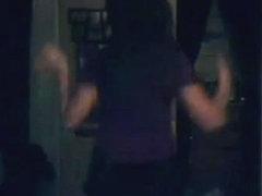 Incredible twerk cam panty video