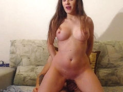 Gorgeous Babe Gets Hot Jizz On Her Body After Sex