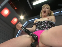 Crazy fetish sex video with best pornstar Mona Wales from Fuckingmachines