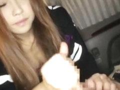 Best Japanese model Mayu Aine, Sena Ayumu in Fabulous Big Tits, Car JAV video