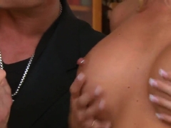 Samantha Saint and Stevie Shae cock sucking
