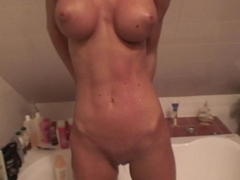 Nessa Devil in homemade sex video featuring a wonderful lassie