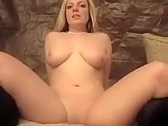 lovely masturbation with boobies